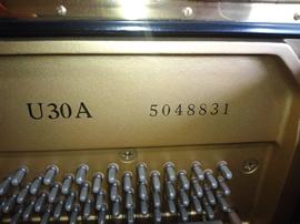 ヤマハU30A製品番号