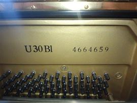 ヤマハU30BL製品番号