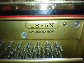 ヤマハUS5X製品番号